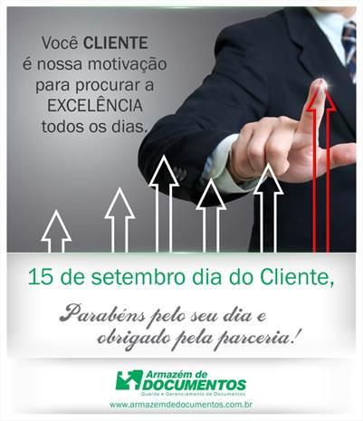DIA DO CLIENTE!
