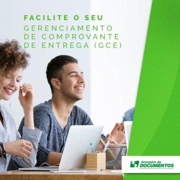 GERENCIAMENTO DE COMPROVANTE DE ENTREGA (GCE)