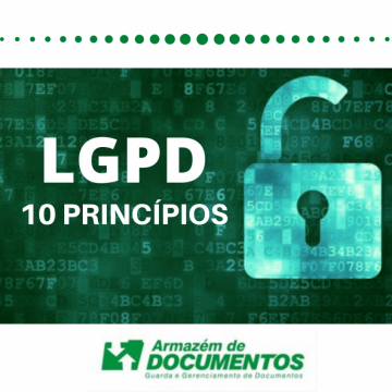 The principles of the LGPD - General Data Protection Law